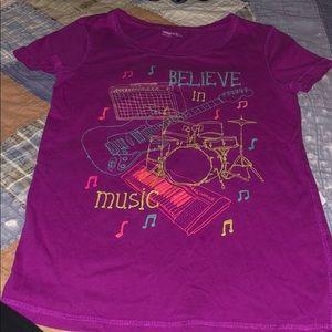 Gap music theme tshirt